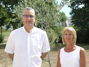 Mikaël DELALANDE et Chrisitine MISIN